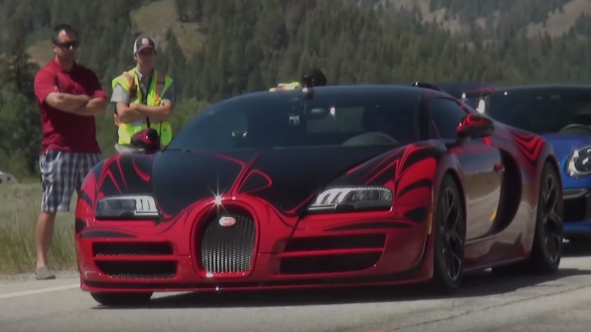 Bugatti Veyron Reaches Only 230 Mph In Idaho Top Sd Event