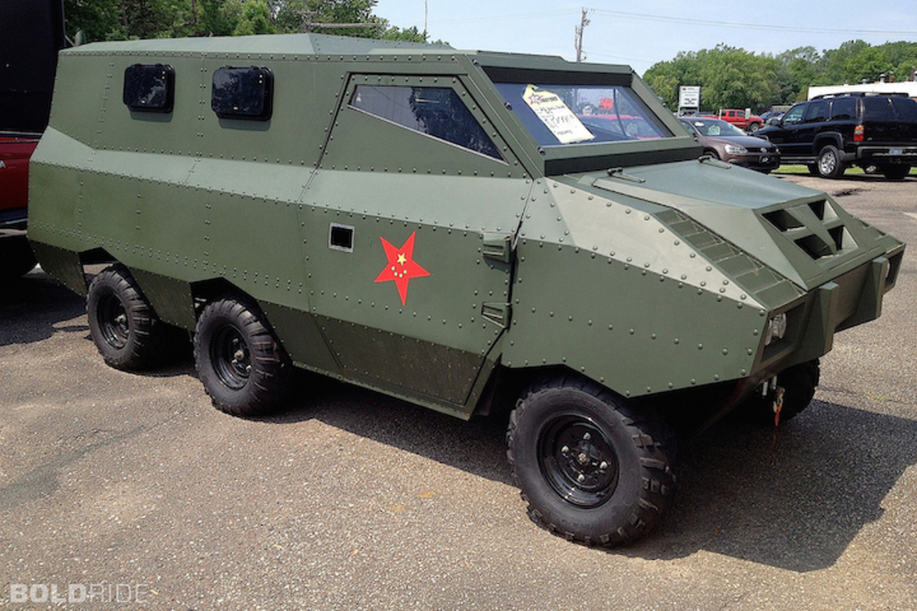 Armored Car For Sale >> Strange Unused Chinese Gov T Armored Car For Sale In The U S