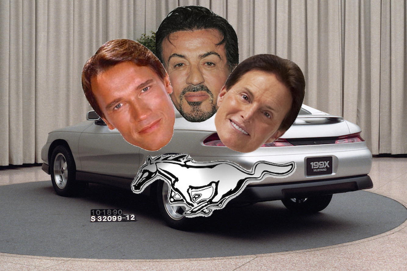 Remember When Ford Named the Mustang after Bruce Jenner and Rambo?