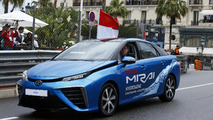 Toyota Mirai at the Monaco Grand Prix