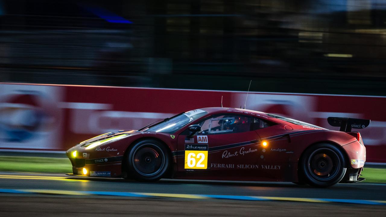 Carte  24 Heures du Mans 2017 Ferrari SCUDERIA CORSA  # 62