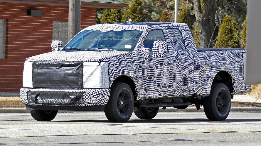 Several new Ford Super Duty trucks spied in Michigan