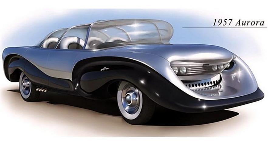 1957 Aurora Safety Car: забытые концепт-кары