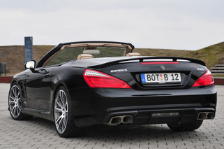 BRABUS 800 Roadster is SL 65 AMG on Performance Enhancers