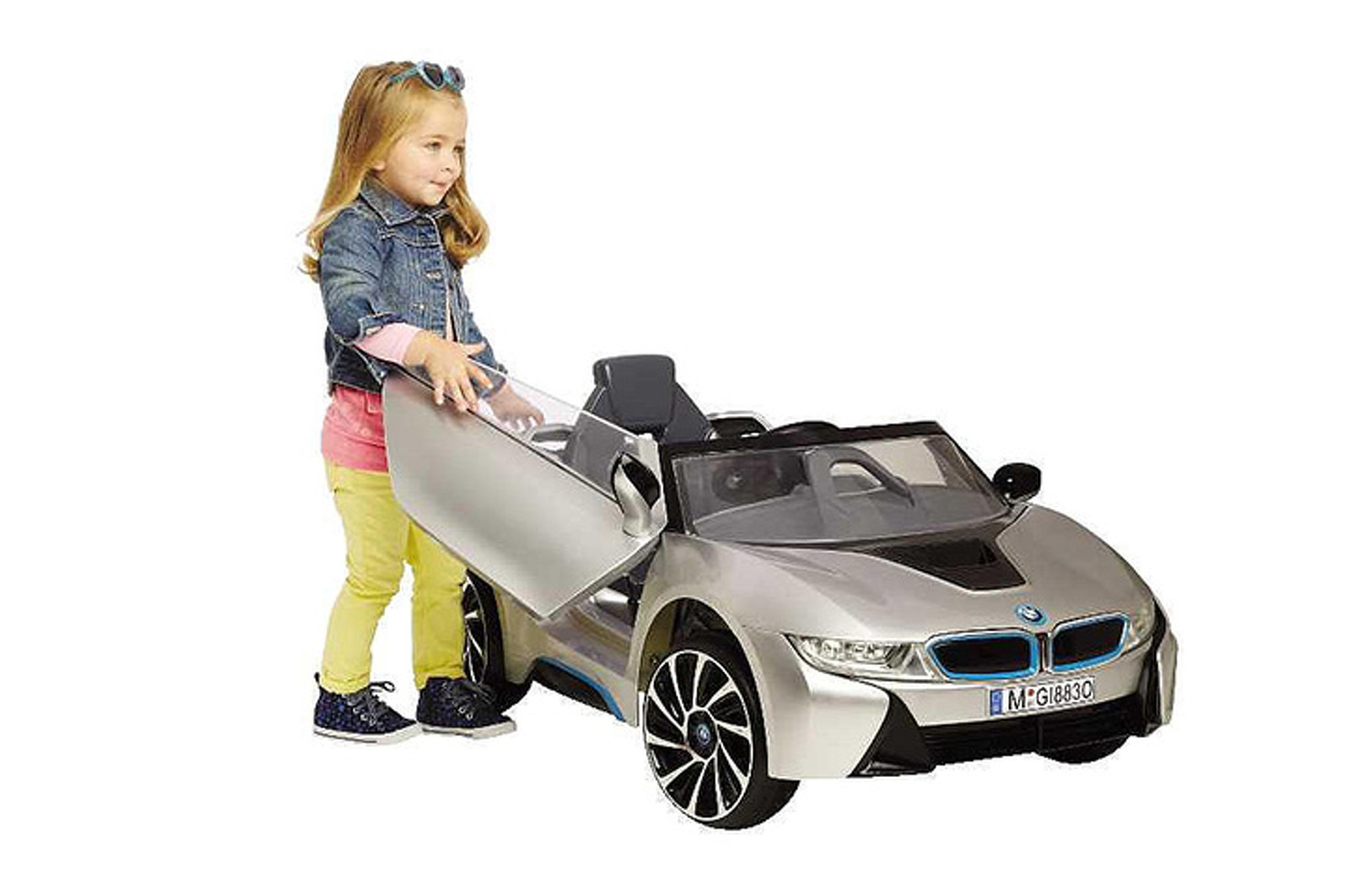 Make Your Kid Love You With This Fancy Driveable Bmw I8 Mini Car