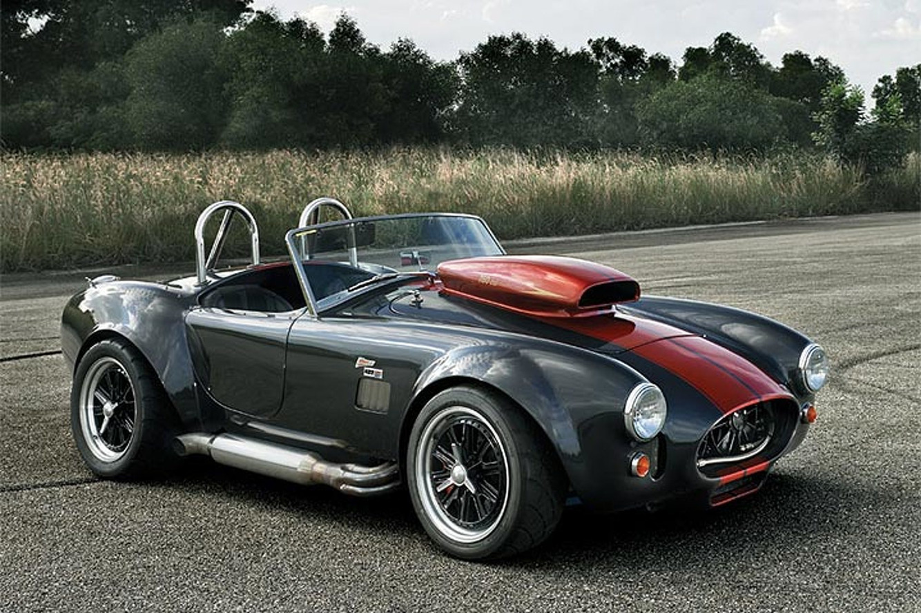 German-Born Ultimate Shelby Cobra Replica Makes 1,100HP