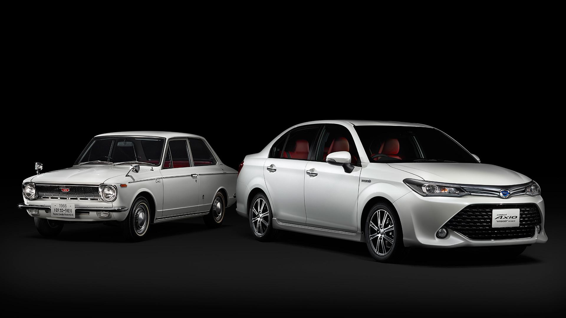 Toyota Corolla Celebrates 50th Anniversary With Axio 50 Limited Edition
