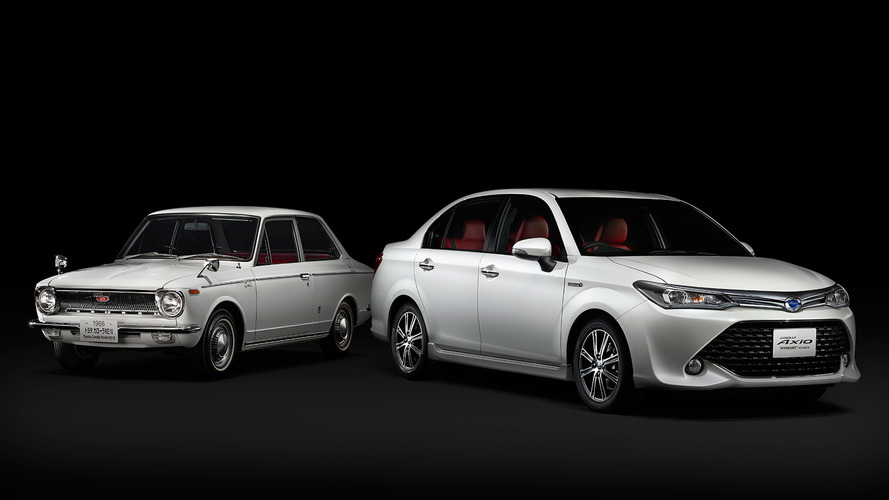 Toyota Corolla celebrates 50th anniversary with Axio '50 Limited' edition