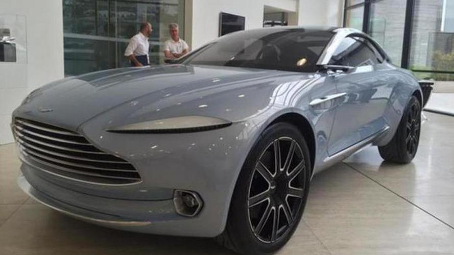 Aston Martin DBX concept Mako Blue