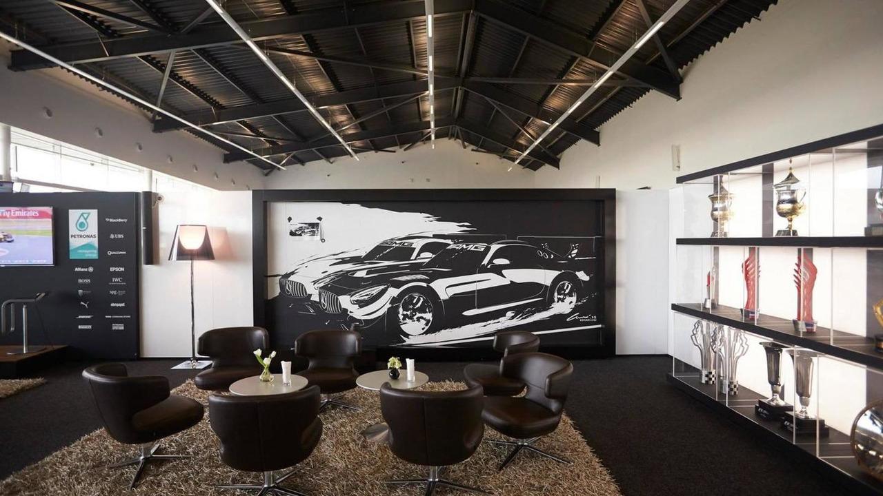 Mercedes-AMG GT3 tape art