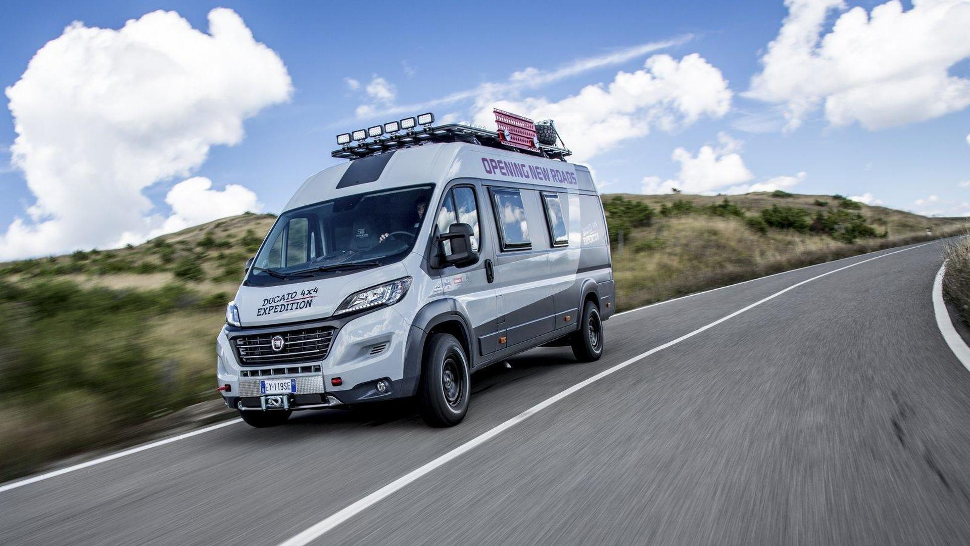 a0bab29041aef5 Fiat Ducato 4x4 Expedition unveiled