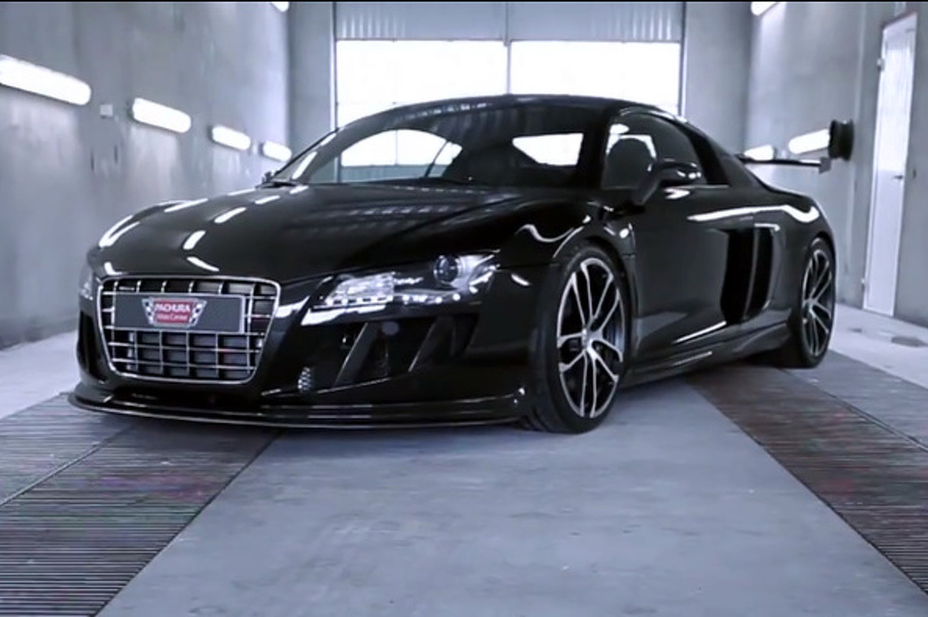 Pachura Audi R8 GTR is a LeMans Racer for the Road [w/ video]