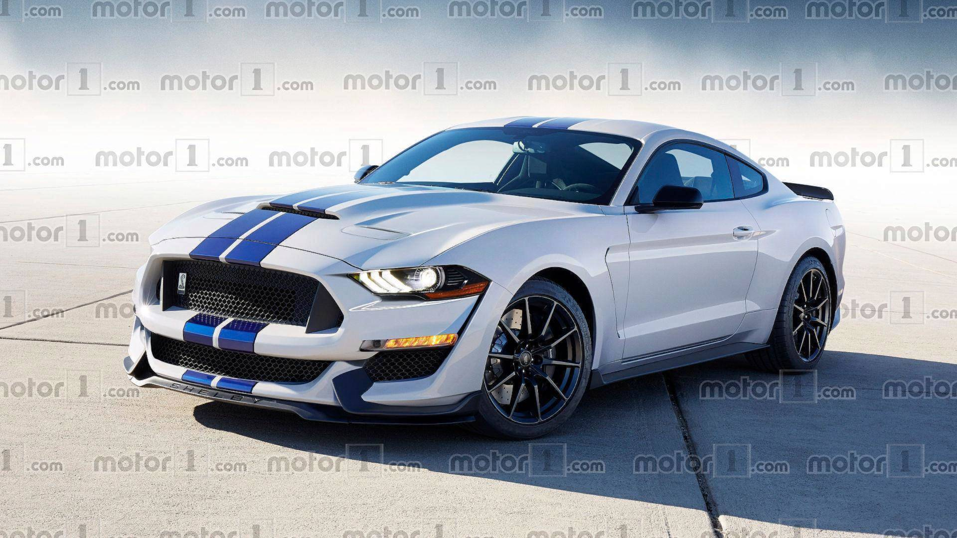 Ford Mustang Shelby Gt500 Is Working