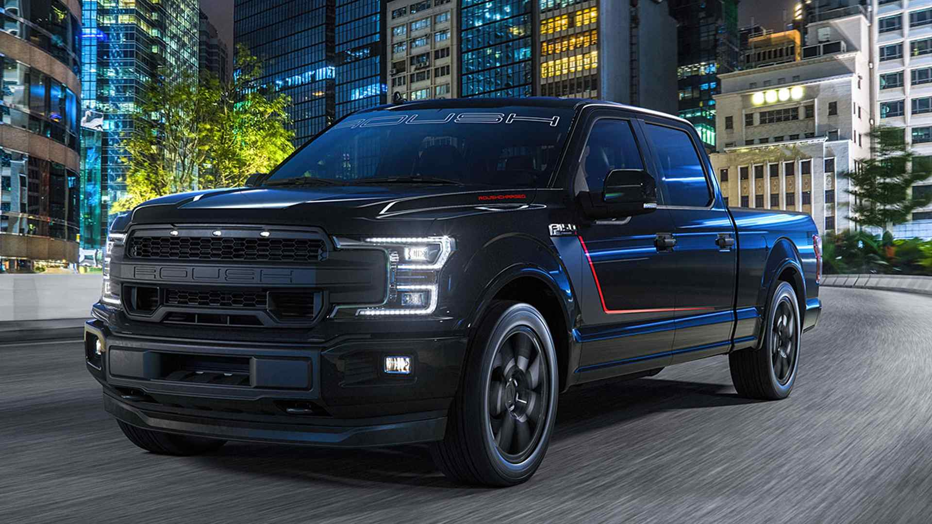 2018 roush f 150 nitemare packs 650 hp to keep you awake at night