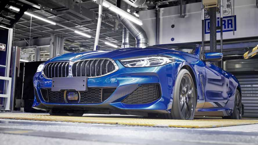BMW lance la production de la Série 8 cabriolet