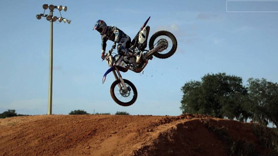 Watch Bubba Stewart whip in slow motion