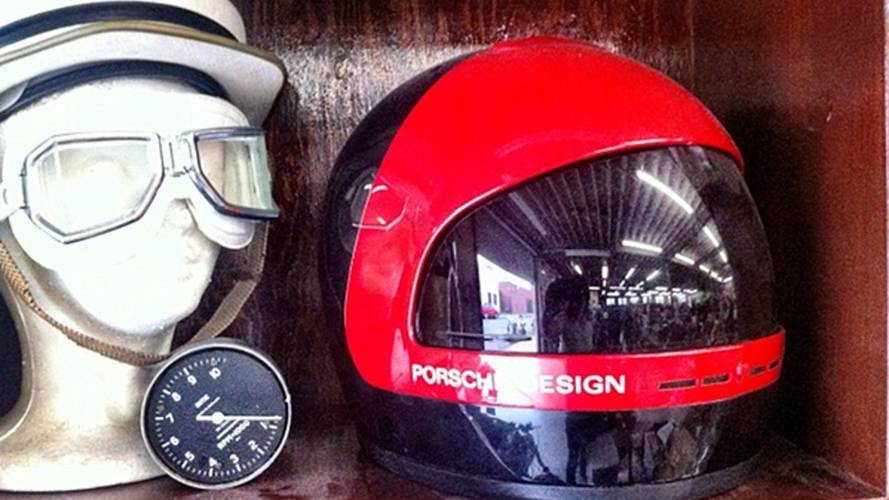 When Porsche designed a motorcycle helmet