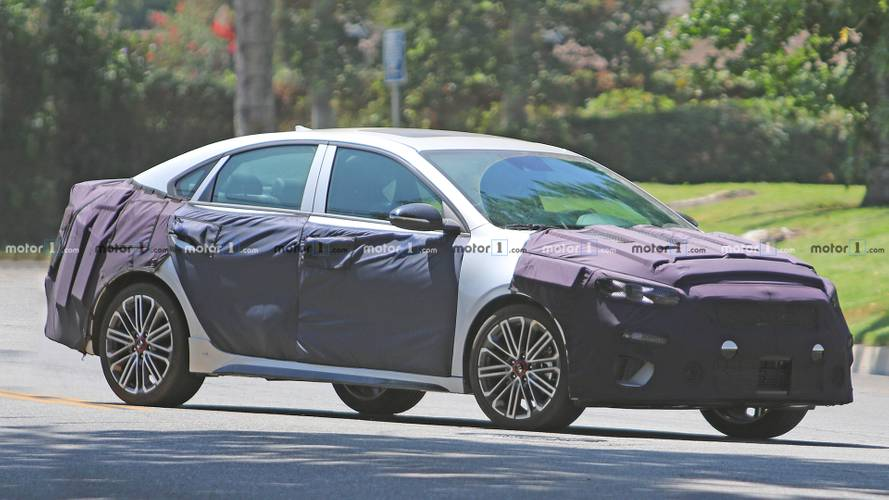 Sportier Kia Forte GT Spied For The First Time