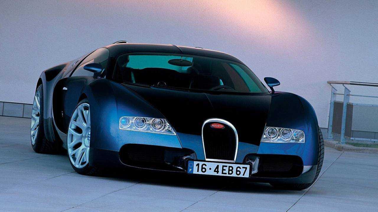 Bugatti Veyron EB 18.4 concept