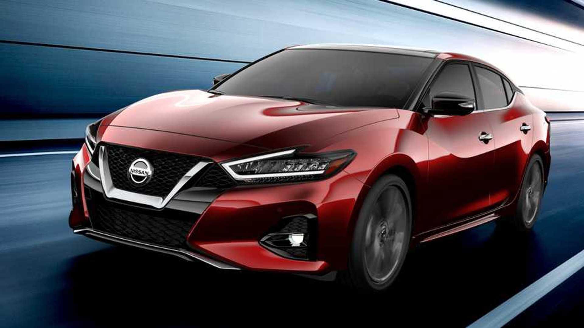 New Nissan Maxima >> 2019 Nissan Maxima Will Show Its Fresh Face At La Auto Show