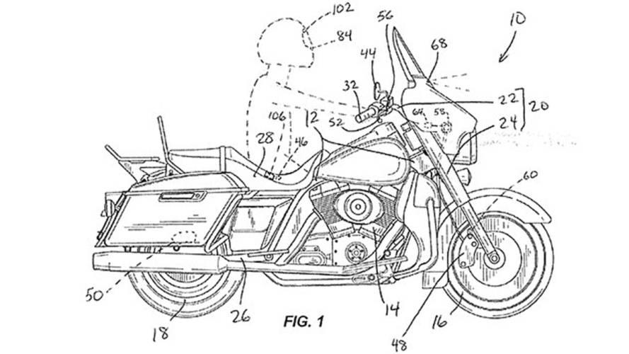 Harley-Davidson научатся тормозить самостоятельно