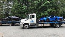 speeding aventador mclaren 675lt impounded