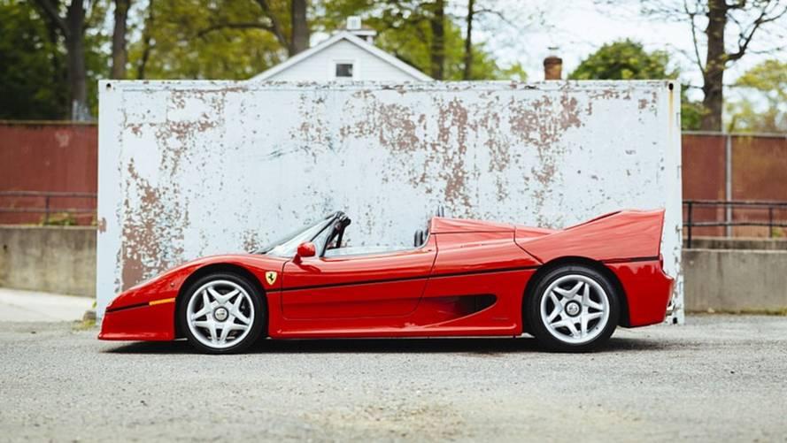 La première Ferrari F50 produite à vendre