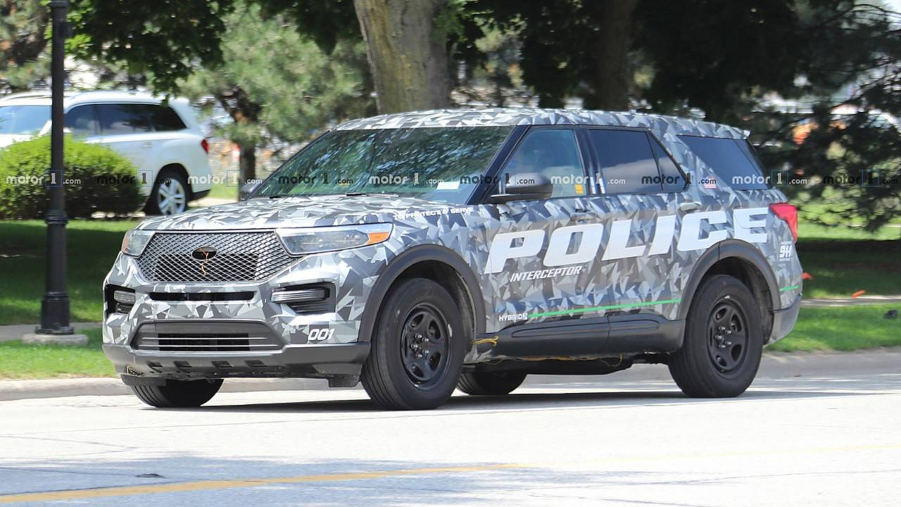 2020 Ford Explorer Interceptor de la police
