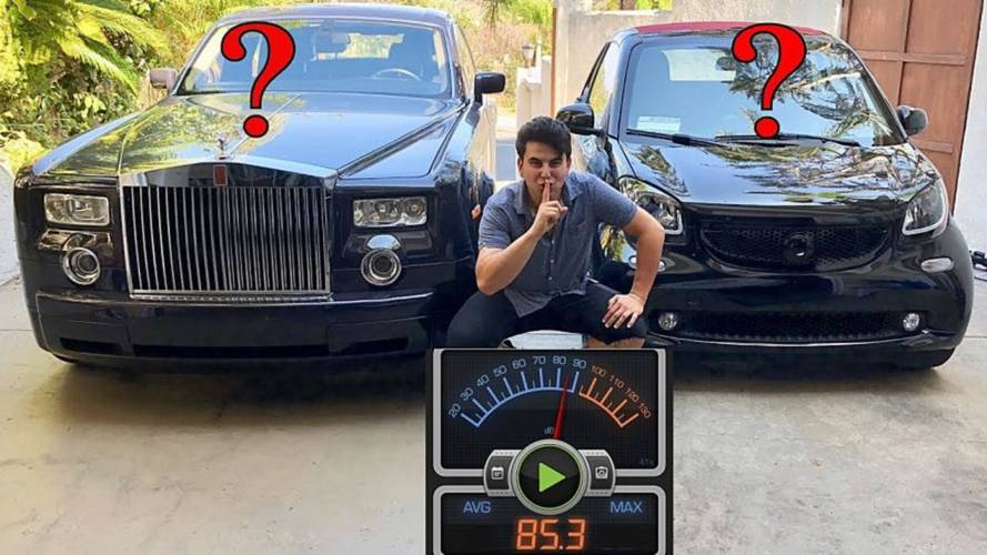 Is A Rolls-Royce Quieter Than A Smart Fortwo Electric Car?