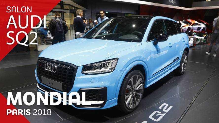 VIDÉO - L'Audi SQ2 en direct du Mondial 2018