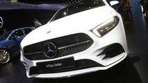 Mercedes-Benz A-Serisi Sedan Paris Otomobil Fuarı'nda