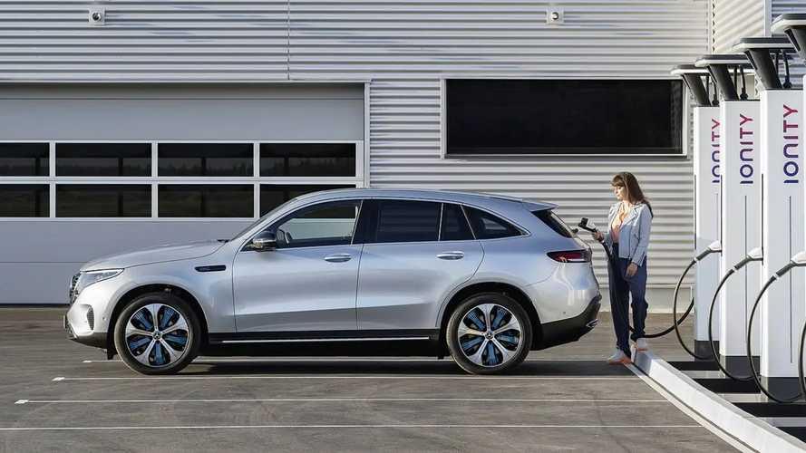 Mercedes EQC, il SUV elettrico in Italia costa 76.839 euro