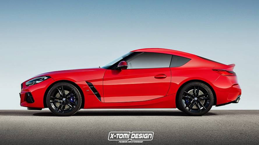 2019 BMW Z4 M40i Coupe render