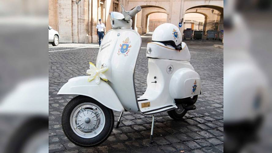 There's A New Popemobile In Town And It Has Two Wheels