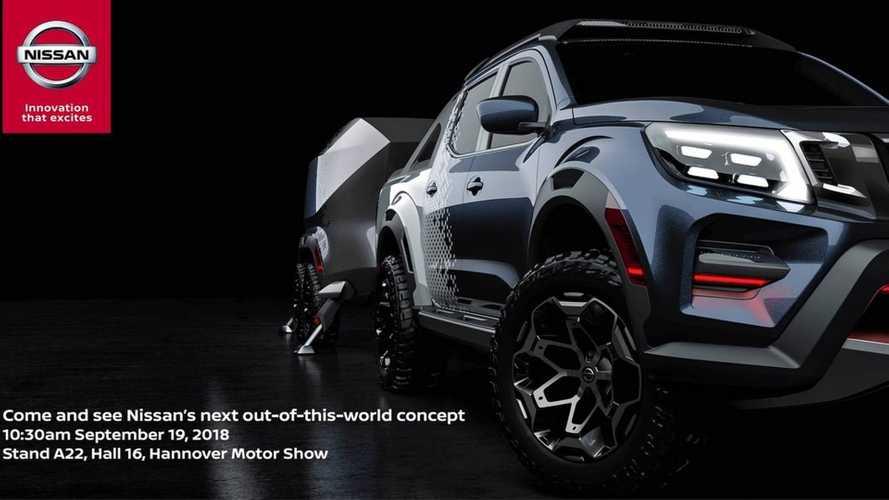 Nissan Frontier terá versão conceitual para o Salão de Hannover