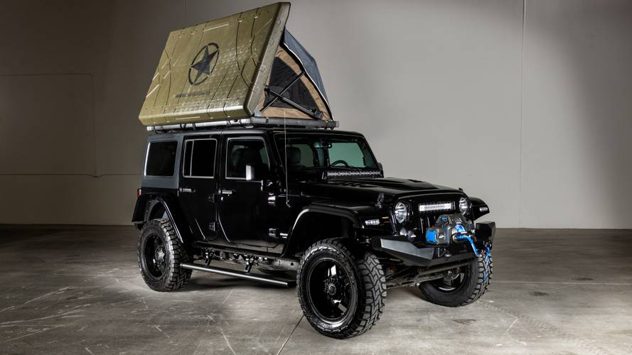 American Fastbacks Badlands Jeep Is A Wrangler-Based RV For Four