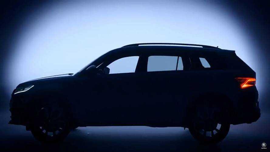 Le Škoda Kodiaq RS pointe (encore) le bout de son nez