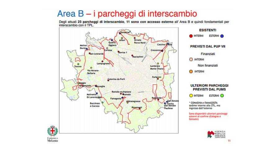 Area B Milano