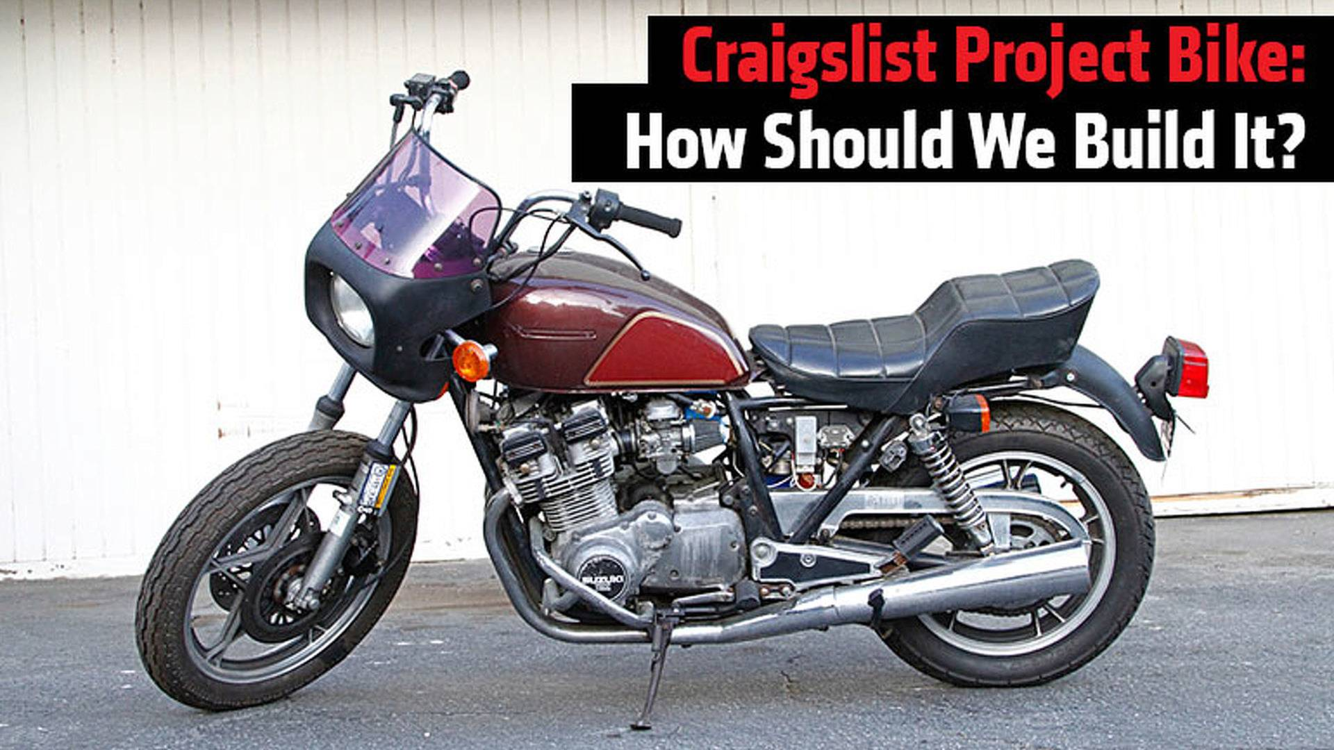 Craigslist Project Bike: How Should We Build It?