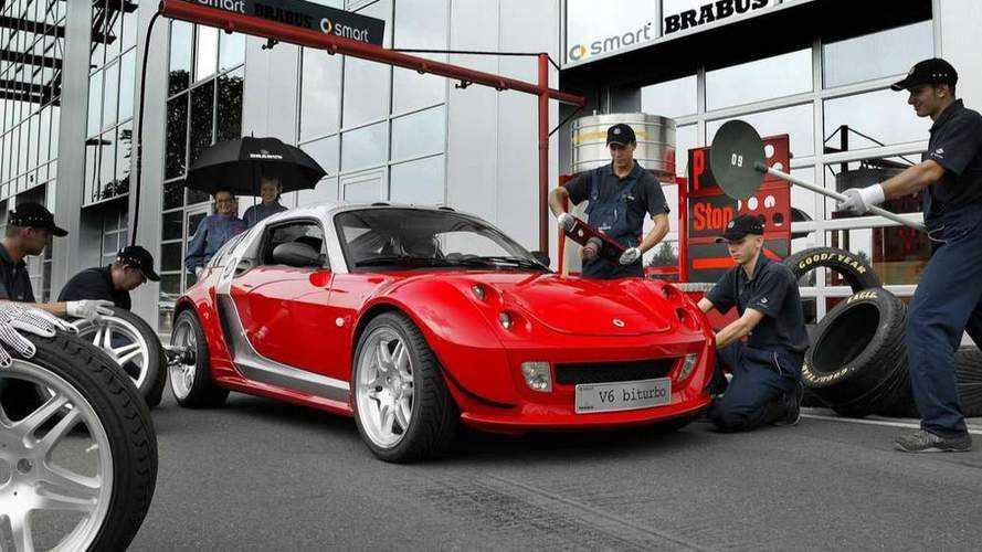 2003 Smart Brabus V6 BiTurbo: забытые концепт-кары