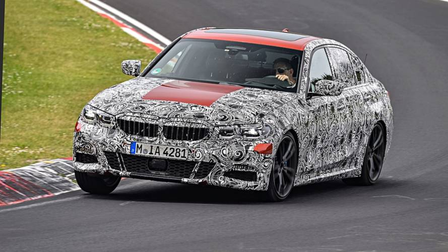 2019 BMW 3 Series teasers