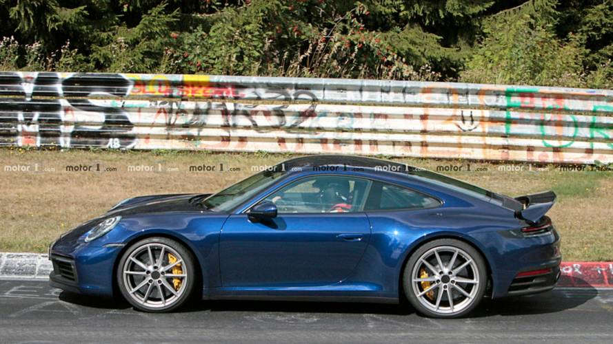 Porsche 911 Nürburgring spy photo