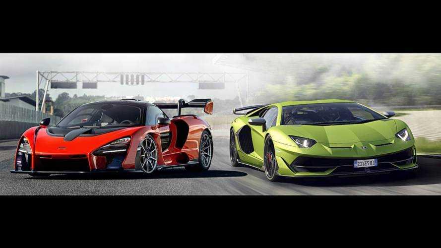 ¿Puede el McLaren Senna con el Lamborghini Aventador SVJ?