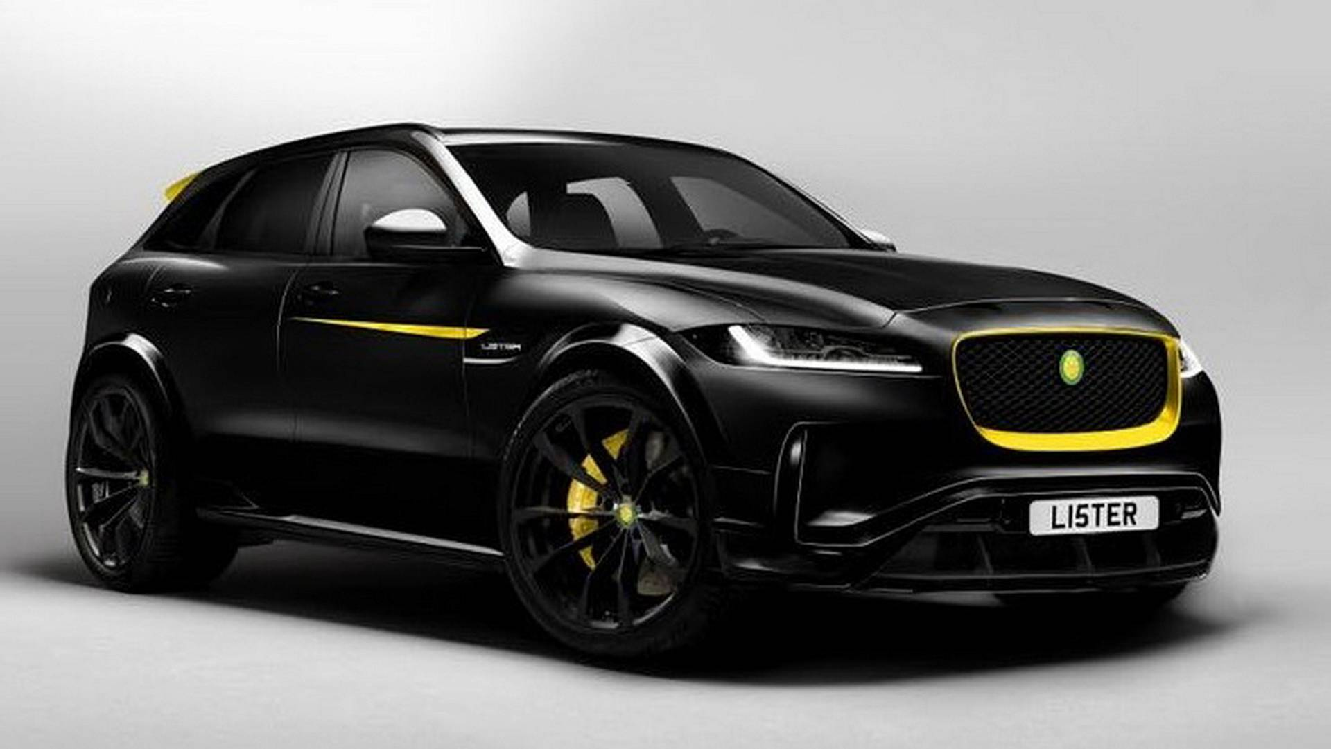Jaguar Suv F Pace >> Lister Jaguar F Pace Previewed With 200 Mph Top Speed 670 Hp