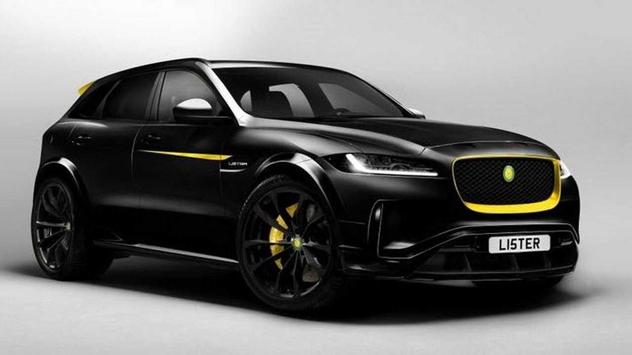 Lister LFP based on Jaguar F-Pace