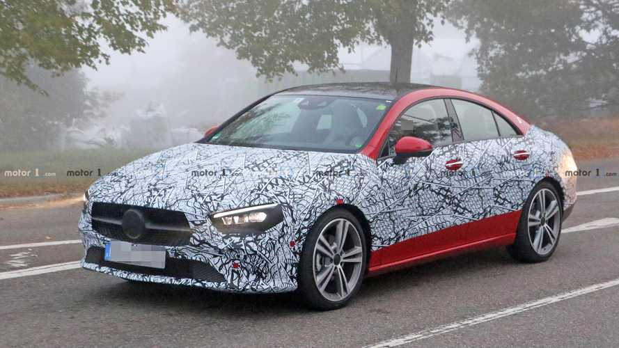 2020 Mercedes CLA spied inside and out with less camo