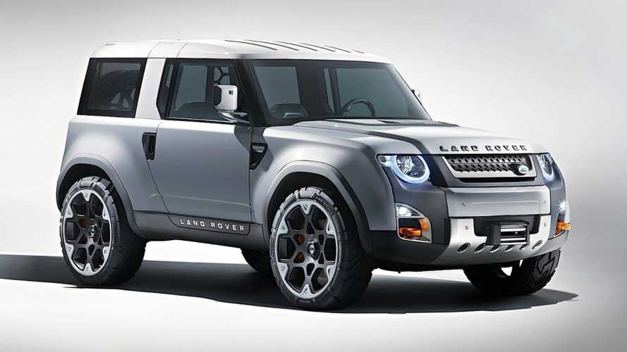 Land Rover planning baby Defender, electric Defender Sport?