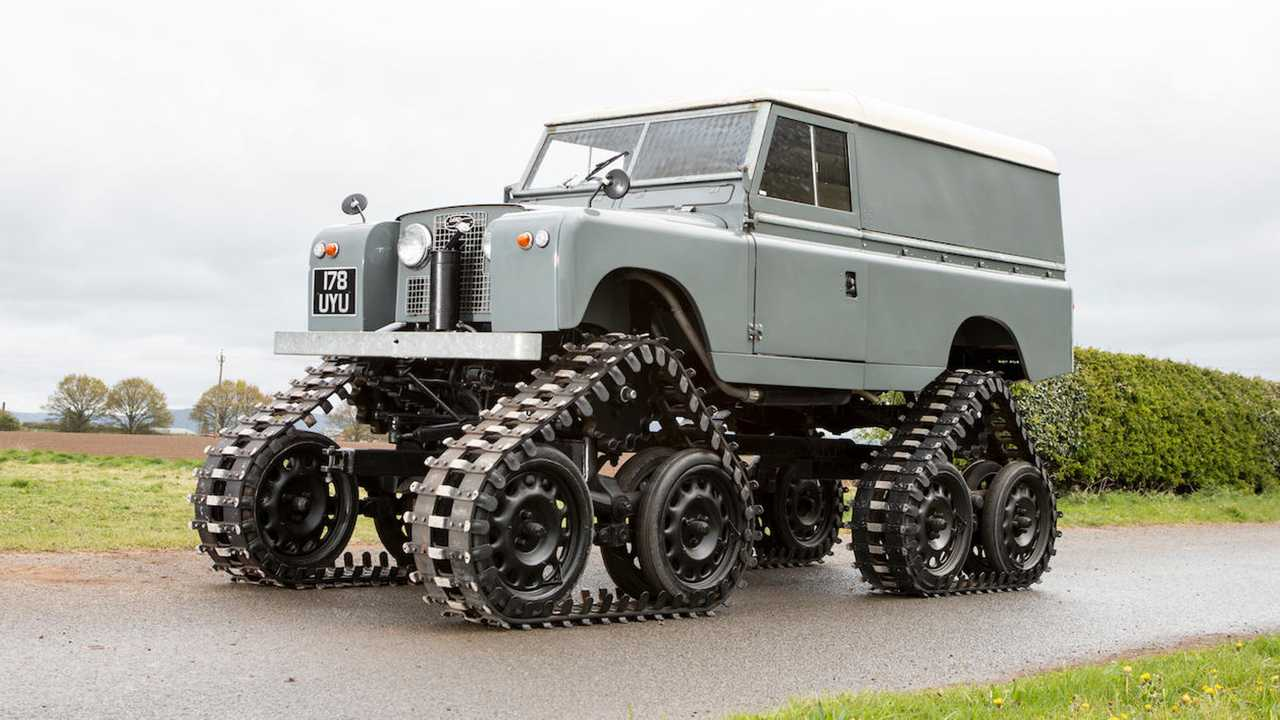 Land Rover Cuthbertson Series II Tracked