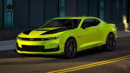 2019 Chevy Camaro Gets A Shocking Makeover For SEMA