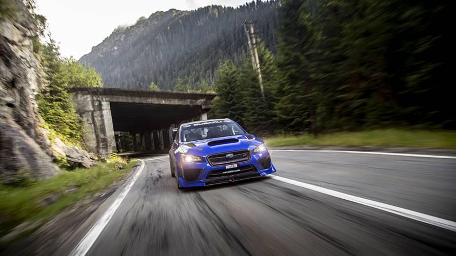 El récord del Subaru WRX STI Type RA en la Transfagarasan, en vídeo